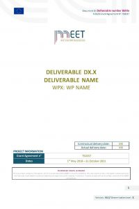 MEET_Deliverable_Template