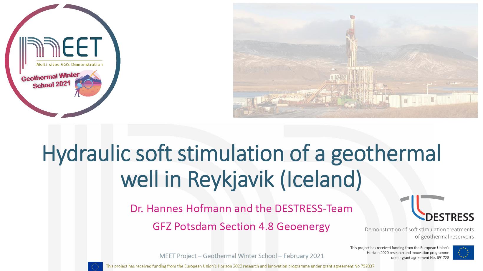 MEET Winter School Hofmann first slide