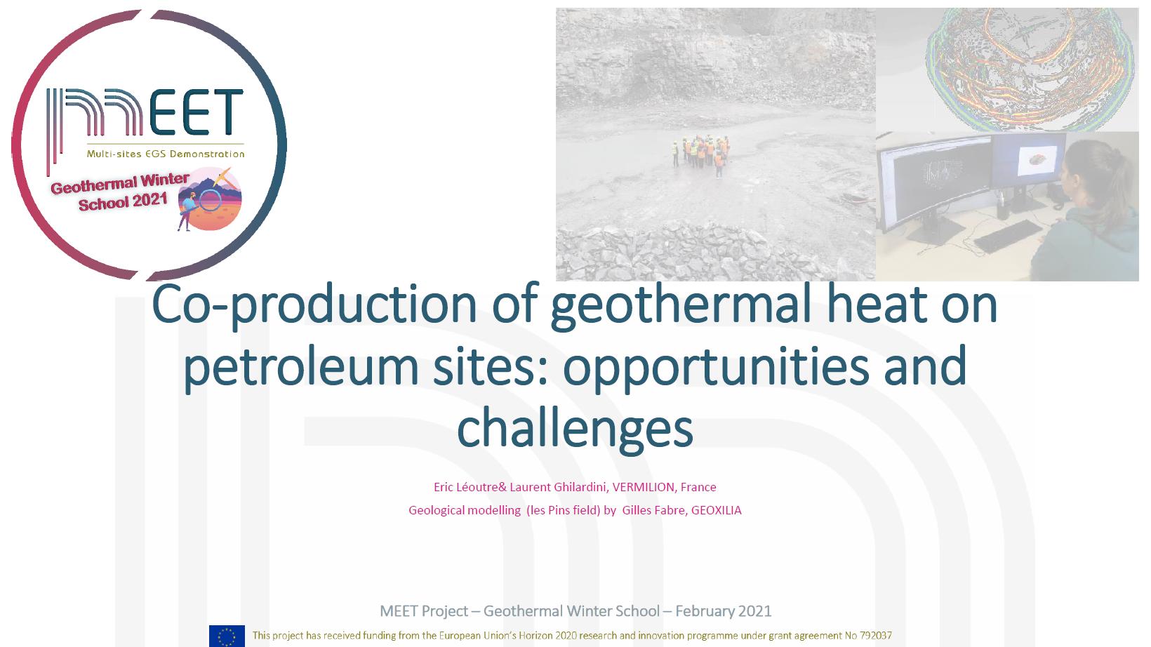 MEET Winter School Leoutre first slide
